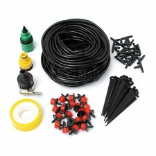 DIY WATER IRRIGATION KIT SET MICRO DRIP WATERING SYSTEM AUTOMATIC PLANT GARDEN