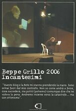 Beppe Grillo 2006. Incantesimi (2006) 2DVD+BOOK