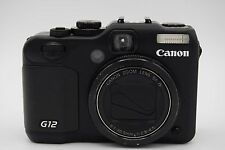 Canon PowerShot G12 10.0MP 2.8''Screen 5x Zoom Digital Camera BLACK