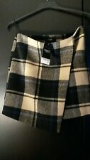 *** NEXT * MINI SKIRT  *  BLUE CHECK * SIZE 10 * NEW WITH TAGS *** Work,, casual