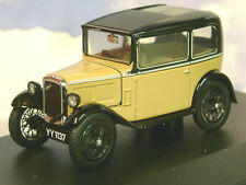 SUPERB OXFORD DIECAST 1/43 1932 AUSTIN SEVEN 7 RN SALOON IN FAWN & BLACK ASS001