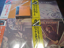 ROD STEWART JAPAN OBI MERCURY YEARS69-74 CD BOX SET +  MINT CONDITION 4 LP SET