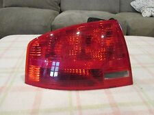 2005 2006 2007 2008 AUDI A4 DRIVER LEFT SIDE OEM TAILLIGHT