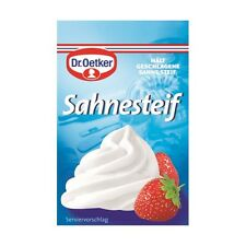 Dr.Oetker Sahnesteif Whip Cream Stabilizer Pack o 5 (5 x 8 g) -Made in Germany-