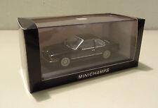 Bmw 635 CSI 6er-serie e24 1982 - 1987 Black/negro Minichamps 1:43