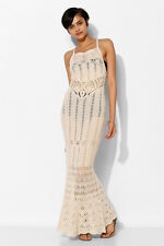 Urban Outfitters Ecote Maxi Crochet Dress, Size XS
