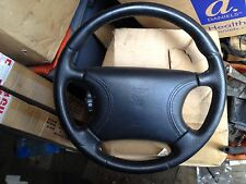 GENUINE JAGUAR XJ8 X308 1997-2002 BLACK MULTI-FUNCTION STEERING WHEEL AND AIRBAG