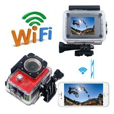 WiFi  2'' Ultra HD 1080P Waterproof Sports DV HD Video Action Camera Camcorder