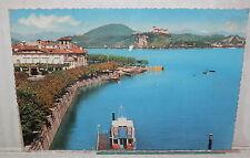 LAGO MAGGIORE ARONA E ROCCA D ANGERA 1961 DI E Vecchia foto cartolina fotografia