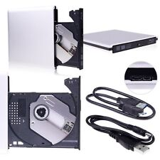 USB 3.0 external Portable Media Blu-ray Combo DVD/CD burner RW Drive PC Laptop