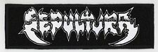 SEPULTURA SUPERSTRIP PATCH / SPEED-THRASH-BLACK-DEATH METAL