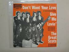 """GREAT SCOTS: Don't Want Your Love-Give Me Lovin'-Holland 7"""" 66 Epic 5-9805-H PSL"""