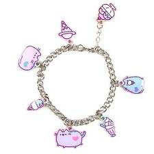 Pusheen Charm Bracelet Pusheen the Cat Jewellery Official Cute Valentines NEW