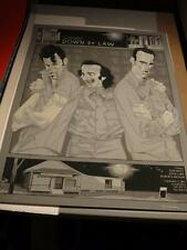 Mondo Rich Kelly Down By Law Poster Print Signed Tom Waits Jarmusch Benigni