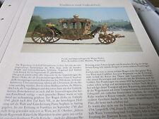 Wien Archiv 11 Tradition 6017 Prunk und Imperialwagen des Wiener Hofes