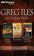 GREG ILES CD COLLECTION #4 (3 audio in 1) Black Cross, 24 Hours, Third Degree