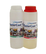 MasterCast clear epoxy casting resin 13.5 oz (400g) kit artwork resin crafting