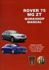Rover 75 & MG ZT Workshop Manual (Workshop Manuals) (Paperback), . 9781855208841