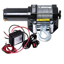 3000 Lb Winch Kit ATV Electric 12V UTV Trailer Boat Wench Fast Free Shipping