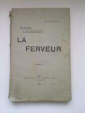 Aux Dames & aux Jeunes Filles : LA FERVEUR, Abbé de Gibergues, 1909