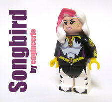 LEGO Custom -- Thunderbolts Songbird -- Marvel Super heroes hulk rogue phoenix
