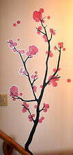 nip WALL ART Easy Decal Sticker PINK CHERRY BLOSSOM TREE Ikea Slatthult 58 X 24""