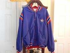 TORONTO BLUE JAYS GAME WORN PLAYER OR COACHES JACKET XL #44 USA MADE