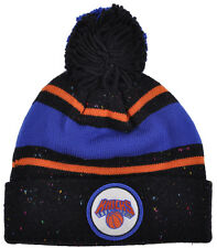 Mitchell Ness New York Knicks Carmelo NBA Team Speckle Winter Pom Beanie Hat