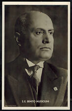 1937 Berlin Germany Benito Mussolini state visit Real Picture postcard Cover 7