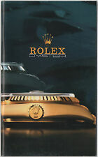 Vintage 1986 ROLEX Brochure Booklet Catalogue 16760 16758 16660 16803 6265 6263