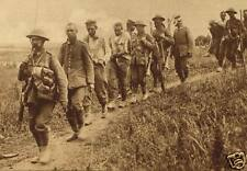 "British Soldiers With German Prisoners of War World War 1, 6x4"" Reprint Photo"