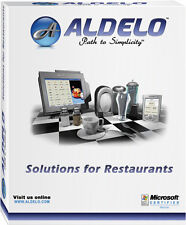 ALDELO LITE SOFTWARE FOR RESTAURANT BAR PIZZA POS 3 STATIONS SAME LOCATION NEW