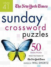 New York Times - Sunday Crossword Puzzles V41 (2015) - New - Trade Paper (P
