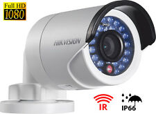 HIKVISION BULLET CAMERA TELECAMERA 2MP IP66 IR HD 1080P 3.6MM DS-2CE16D0T-IR LED