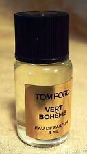 """TOM FORD """"Vert Bohème"""" EAU DE PARFUM 10 ML LUXURY FRAGRANCE"""