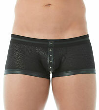 GREGG HOMME DIABLO STUDDED BOXER BRIEF BLACK underwear XS 142905