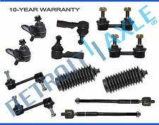 NEW 12pc Complete Front and Rear Suspension Kit Toyota Corolla W/ Hydraulic Rack