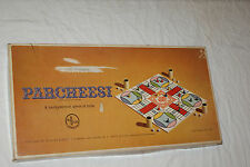 Vintage 1959 Gold Seal Ed PARCHEESI Board Game Selchow & Righter Complete! L#190
