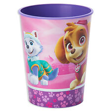 16oz Paw Patrol Pink Girl's Birthday Party Plastic Loot Treat favor Cup