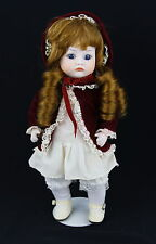 """Reproduction Porcelain OOAK Bisque VIctorian Pouty Doll Jointed Unsigned 11"""""""
