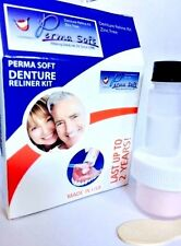 Perma Soft Denture Reliner Kit --1 Kit -Reline for UPPER or LOWER  Denture