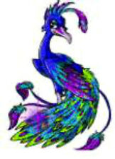 20  WATER SLIDE NAIL ART  DECAL TRANSFERS BEAUTIFUL PEACOCK