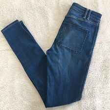 Abercrombie & Fitch High Waisted Slim Skinny Jeans Size 2R