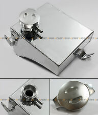 Polished Aluminum Radiator Coolant Overflow Tank Can For Nissan 240SX S13 Silvia