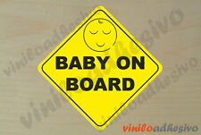 PEGATINA STICKER VINILO Bebe a bordo ref8 Baby on board autocollant aufkleber