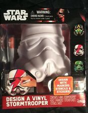 Star Wars Design A Vinyl Stormtrooper Helmet Episode 7 The Force Awakens Disney