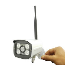 HJT Audio Wireless WiFi 720p IP Camera TF Card Slot Outdoor Network Night Vision