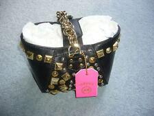 Versace for H & M, Tasche, Leder, schwarz, NEU!!!!