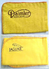 JAGUAR & DAIMLER CARS:LARGE HI-QUALITY CLEANING CLOTH DUSTERs WITH LOGO DECALS