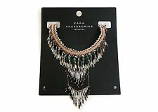 ZARA WOMENS STATEMENT NECKLACE *BRAND NEW* RRP £29.99 *STYLE REF:6869/047*